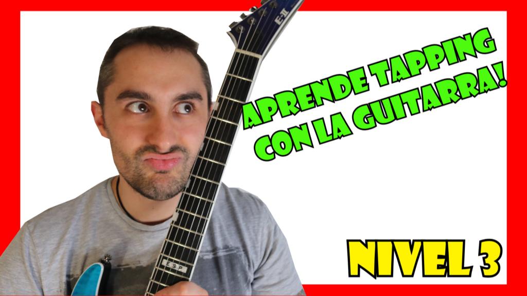 Ejercicios de Tapping para guitarra eléctrica