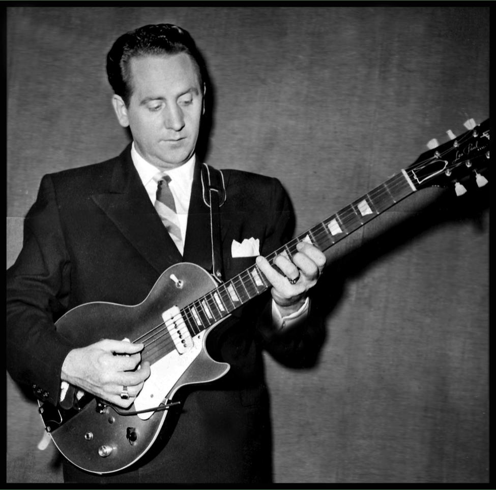 Les Paul. Guitarrista que hizo las Guitarras gibson leS paul.