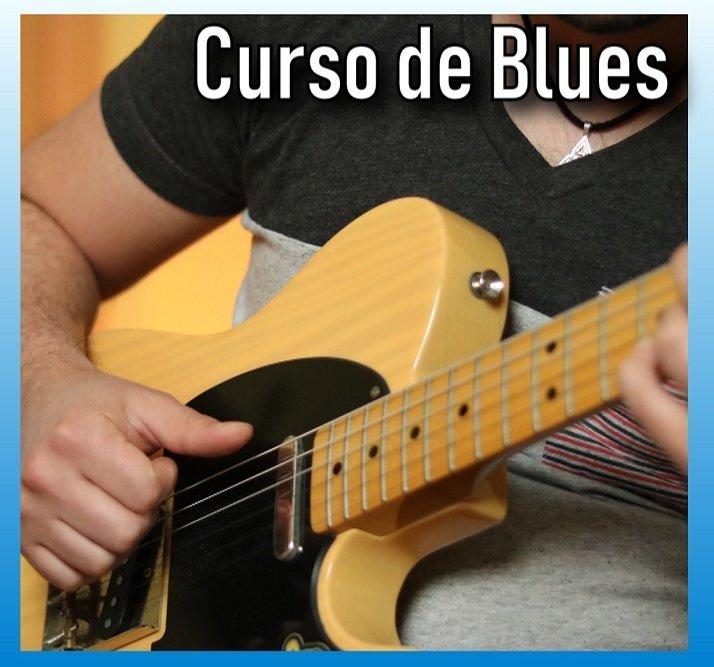 Aprende Blues Online desde CERO con la Guitarra.