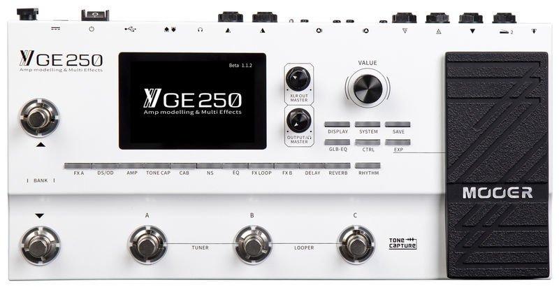Pedalera Mooer GE 250. Review y Opiniones 2020