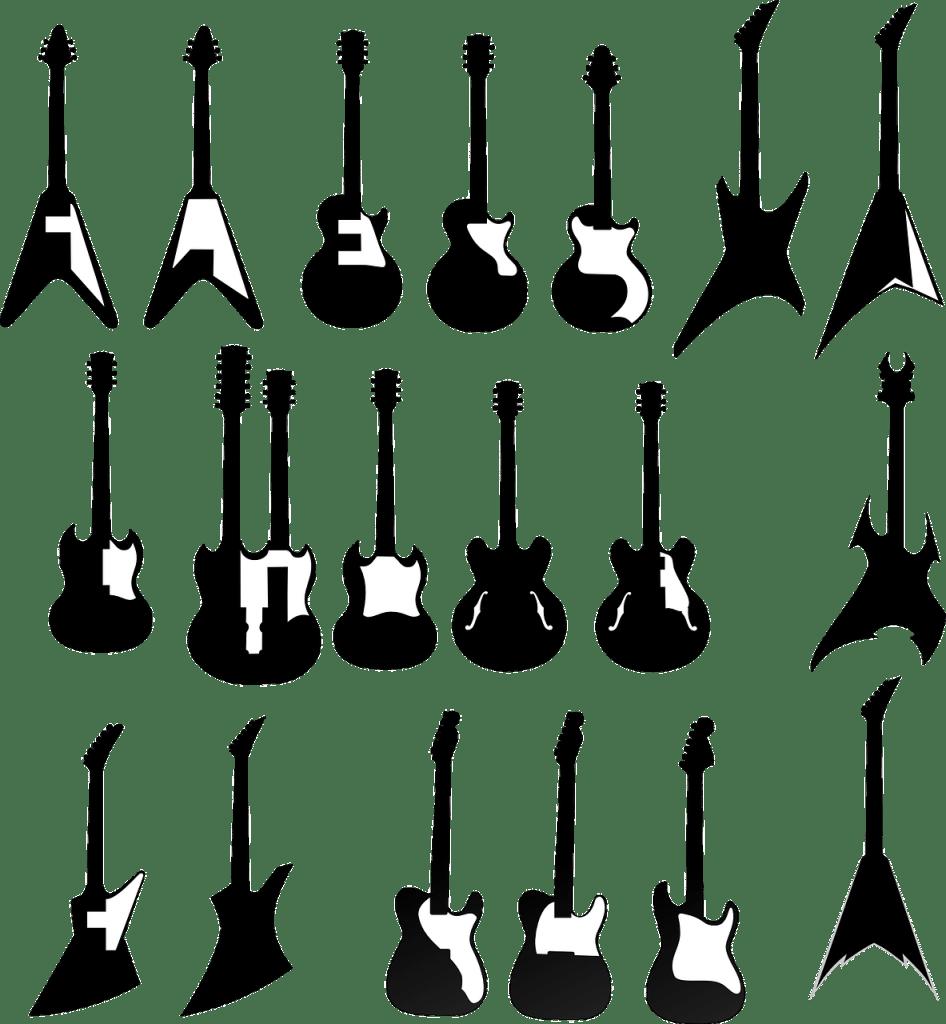 Las mejores GUITARRAS METALERAS. Ideal para TOCAR HEAVY METAL BARATAS.