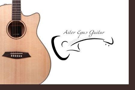 Fotografía Armonía musical para guitarra acústica