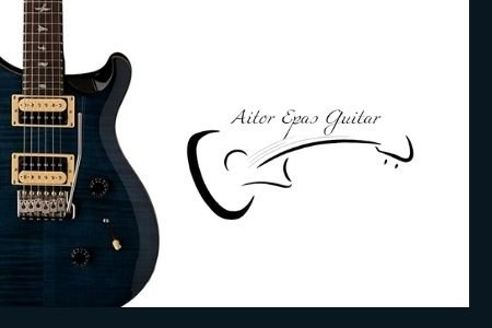 Fotografía Armonía musical para guitarra electrica