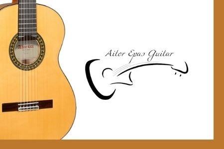 Fotografía Armonía musical para guitarra española