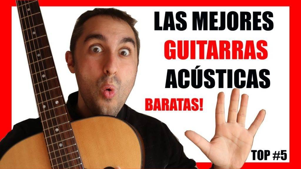 Top 5 Guitarras acústicas en calidad precio