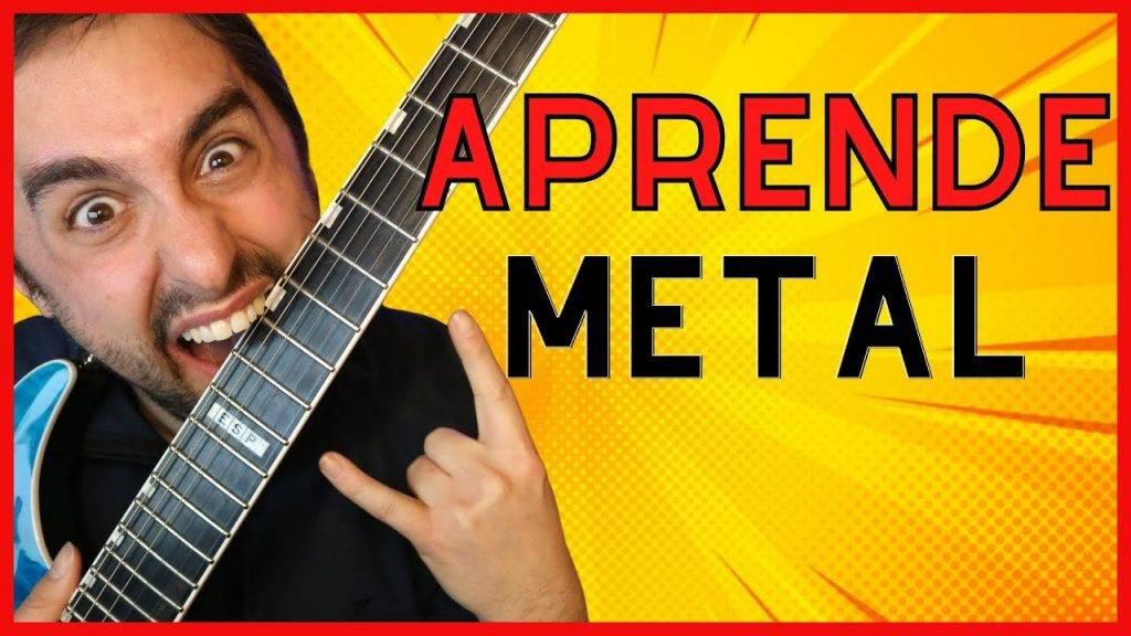 3 Ejercicios para Aprender Como Tocar HEAVY METAL en Guitarra Para Principiantes 🤘