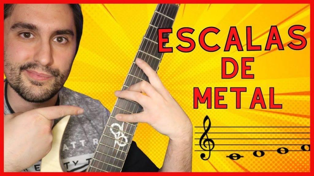 3 ESCALAS de Guitarra Eléctrica para SOLOS y Licks en HEAVY METAL.