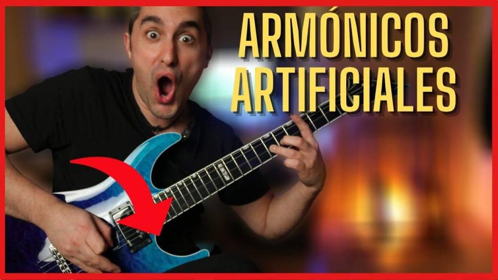 Como Tocar Armónicos Naturales y Artificiales en Guitarra