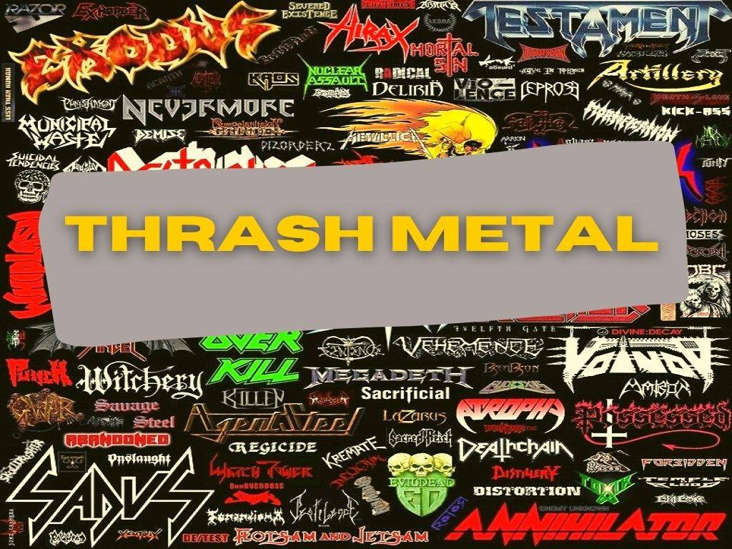 Curso THRASH METAL