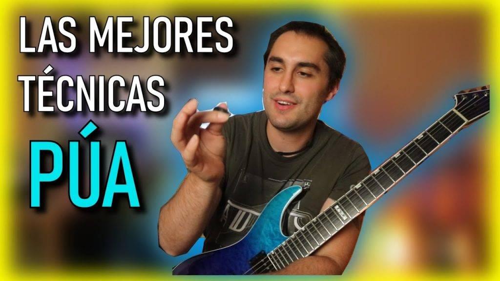 Técnica de púa Guitarra