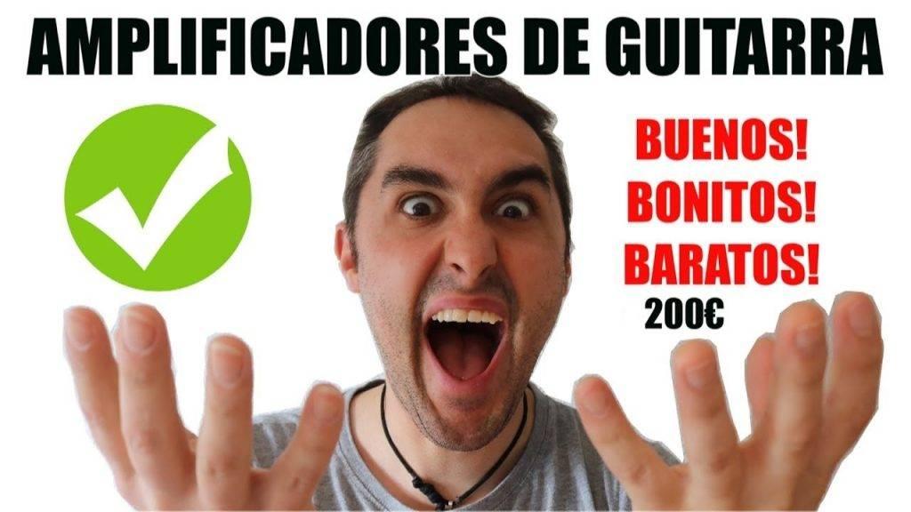 Los 5 MEJORES AMPLIFICADORES BARATOS DE GUITARRA