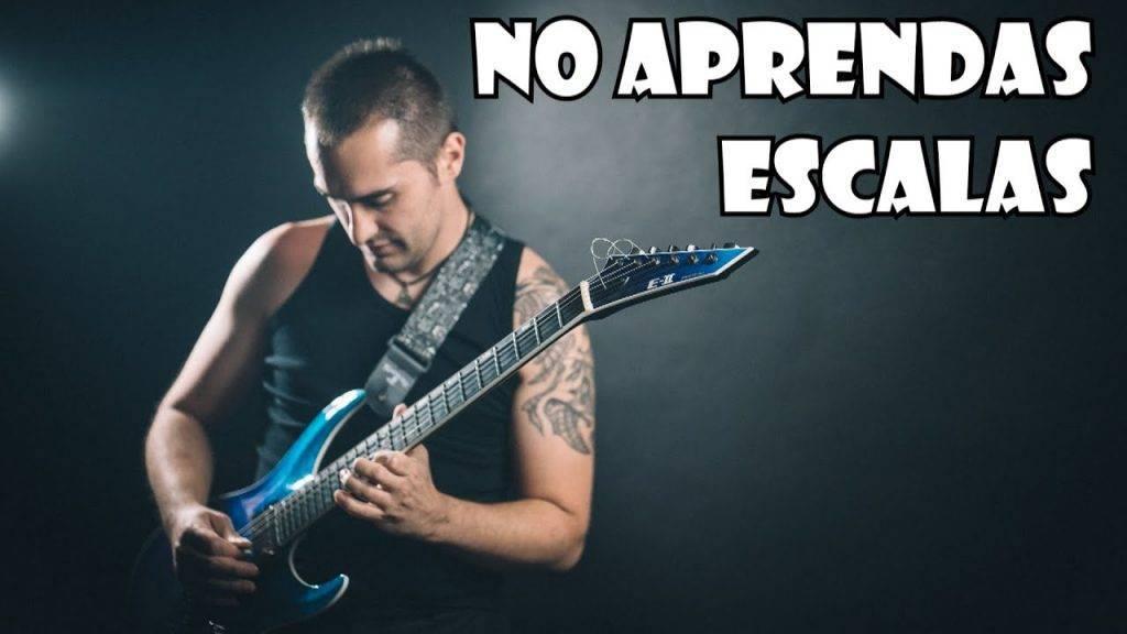 ¡NO APRENDAS ESCALAS con la Guitarra! Aprende ARMONÍA y ENTIENDE lo que tocas