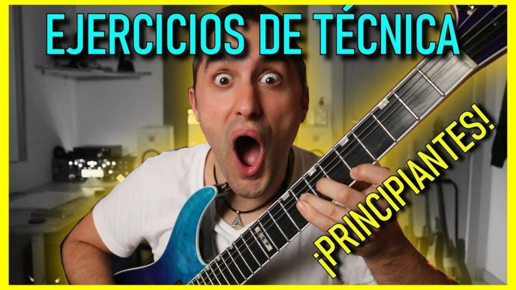 Ejercicios Guitarra Eléctrica Principiantes