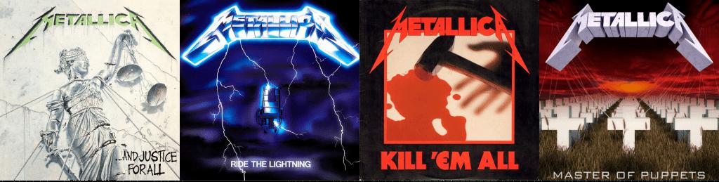 Álbumes de Metallica.