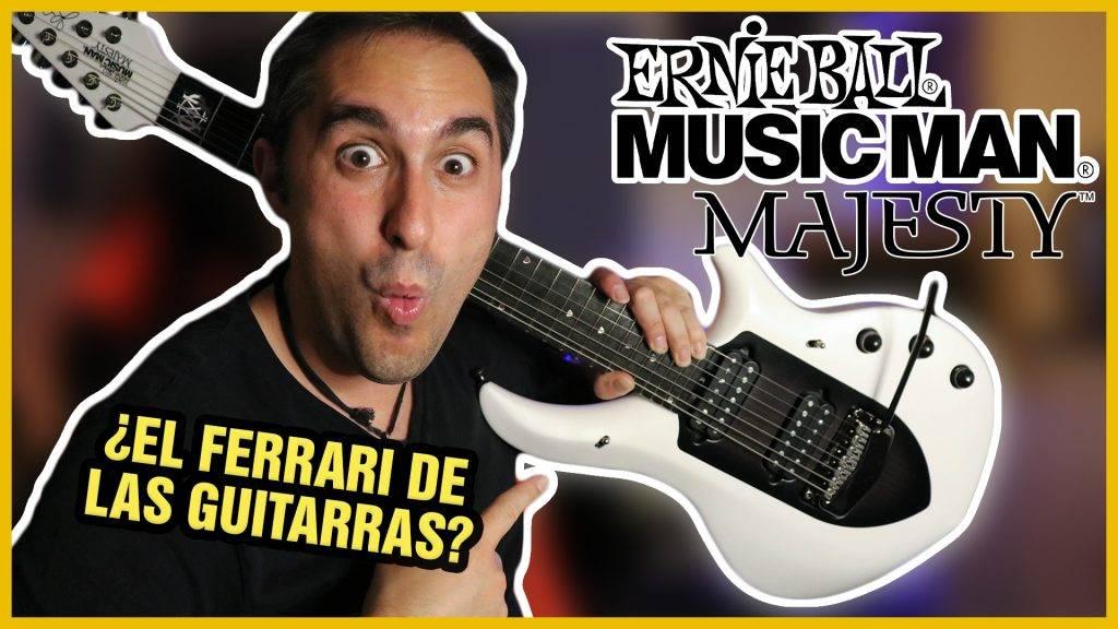 MUSIC MAN Majesty de 7 cuerdas 🎸 Una Guitarra BRUTAL