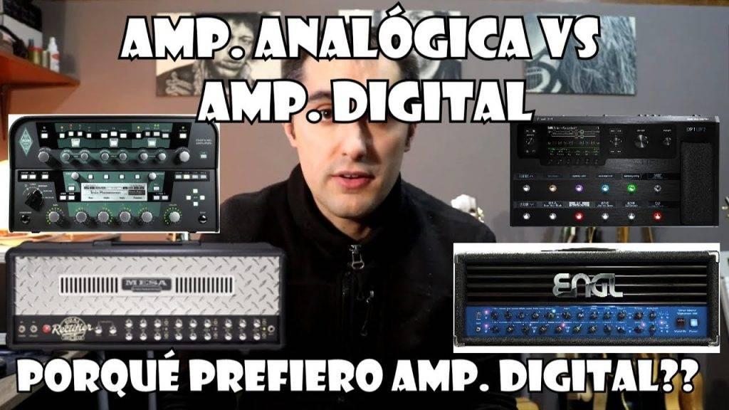 Amplificación analógica vs. digital
