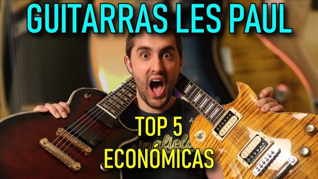 TOP 5 Guitarras LES PAUL baratas relación CALIDAD PRECIO🎸