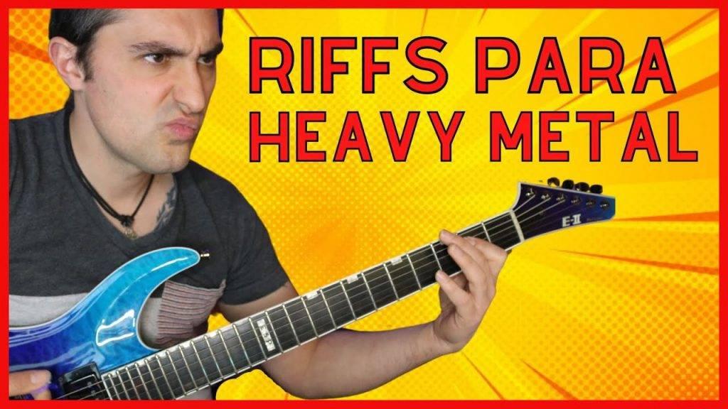 5 riff heavy metal